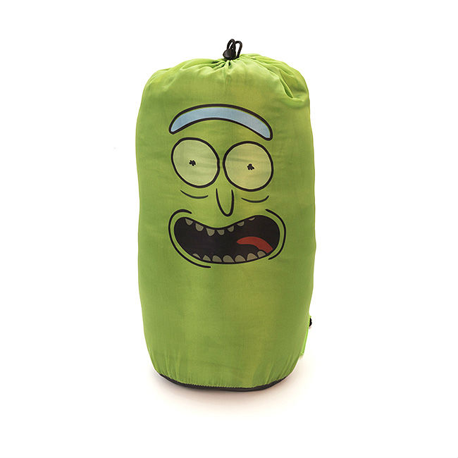pickle rick sleeping bag