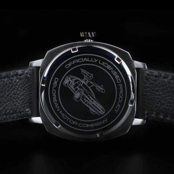 delorean inspired watch
