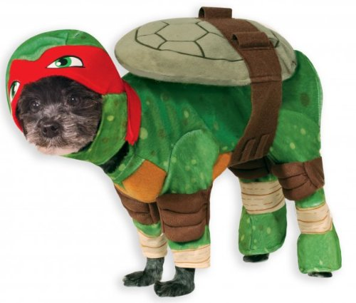 ninja turtle dog costume