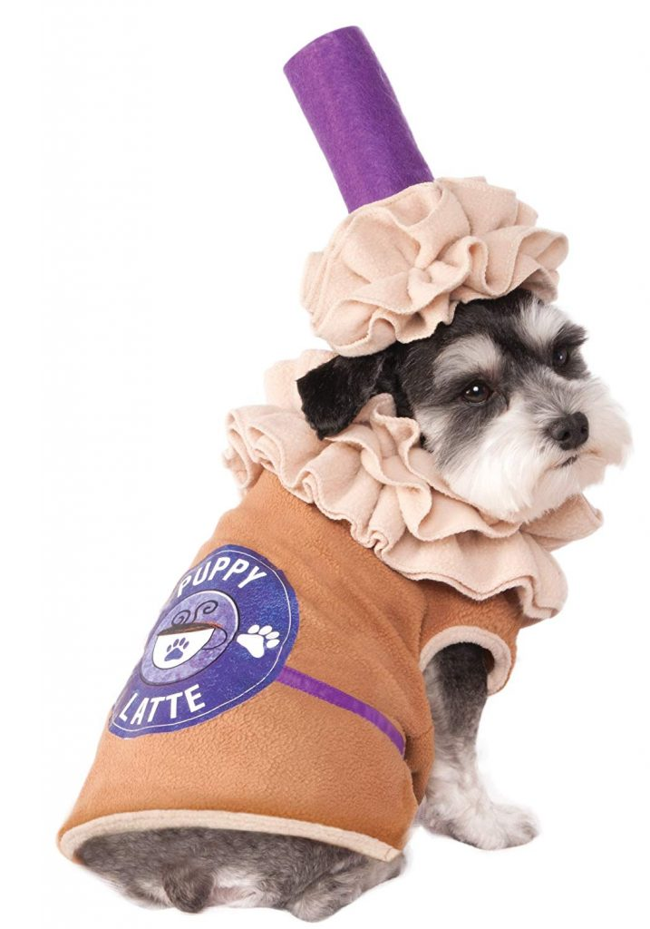 dog latte costume