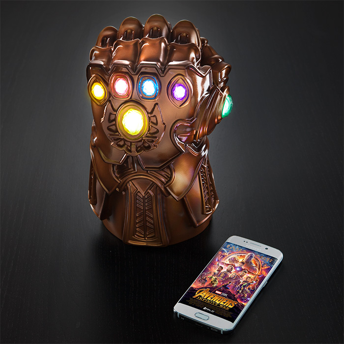 thanos gauntlet mood lamp