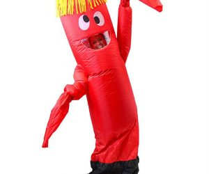 Inflatable Tubeman Halloween Costume It's Wacky Waving Inflatable Arm Flailing Tubeman In Halloween Costume Form!