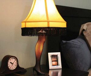 Bring home a replica of the infamous leg lamp from the beloved holiday comedyA Christmas Story!
