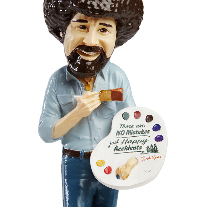 Bob Ross Figure Ornament