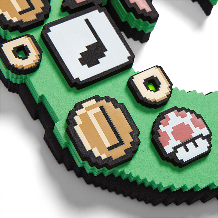 Nintendo Super Mario Light Up Wreath
