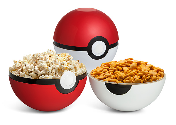 Poke Ball Serving Bowl Set