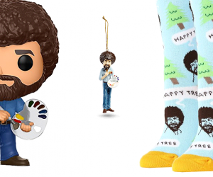 Hey friends welcome, Certainly glad you could join us today for this happy little list of Bob Ross products to bring some always needed positivity into our lives, so whether