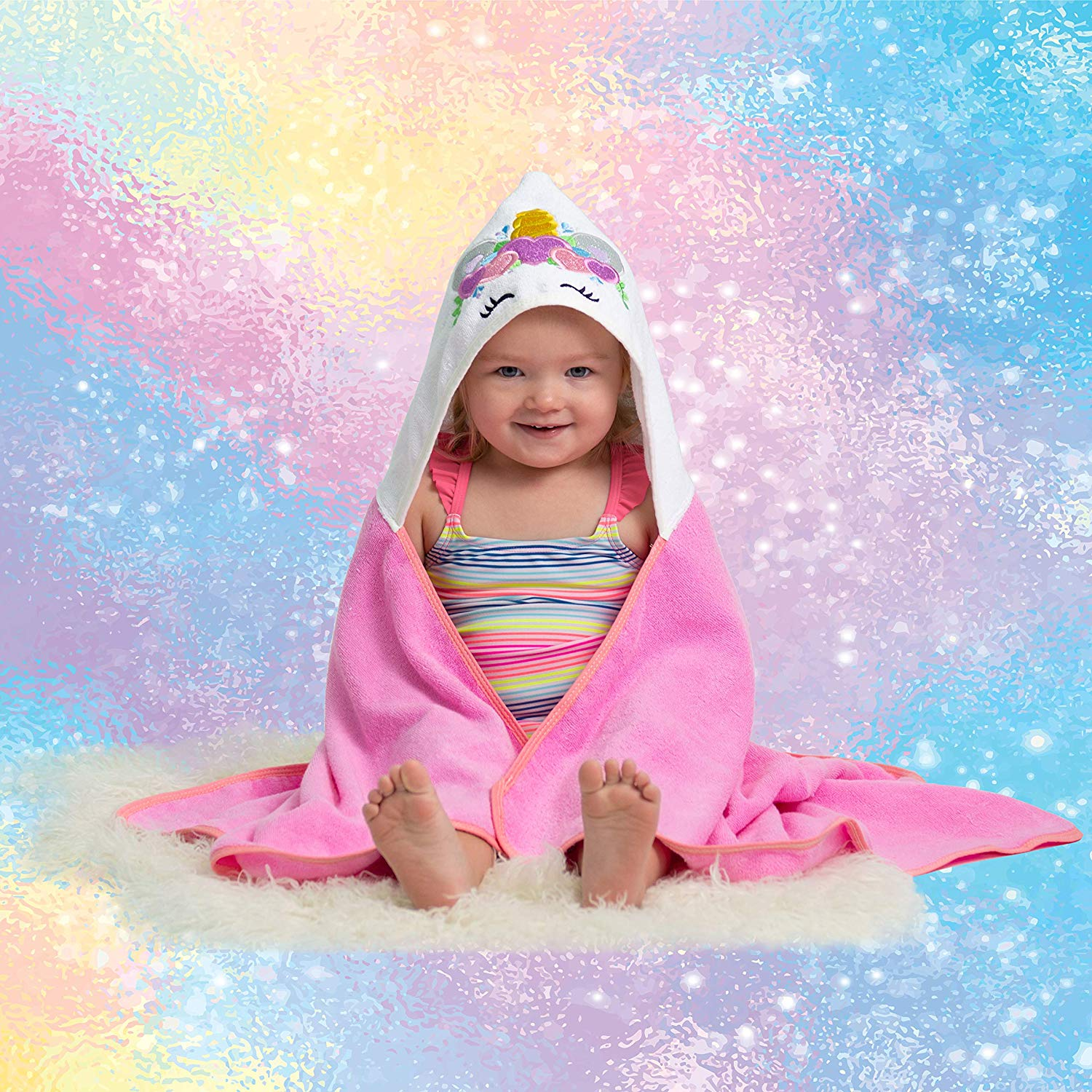 Unicorn Baby Towel