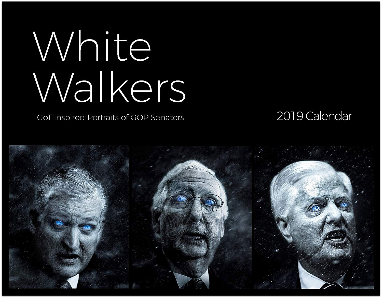 White Walkers 2019 Calendar