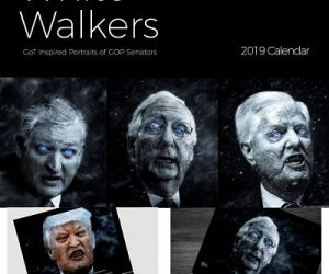 White Walkers 2019 Calendar is a satirical gift reflecting our current political climate mixed with a little pop culture! The perfect wall reminder to VOTE and stay politically aware.