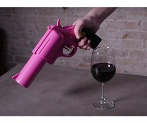 Open your wine fast and without hassle with the incredible WineOvation Electric Gun Wine Bottle Opener.