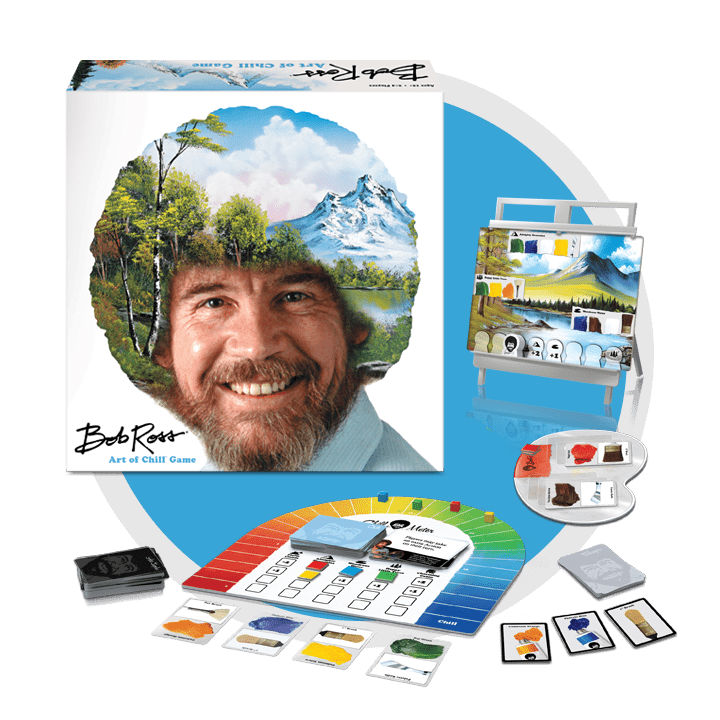 bob ross the art of chill board game
