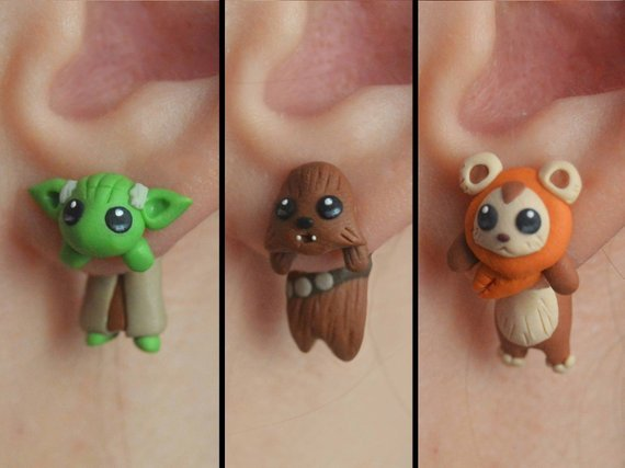 star wars earrings