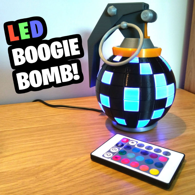 fortnite led boogie bomb