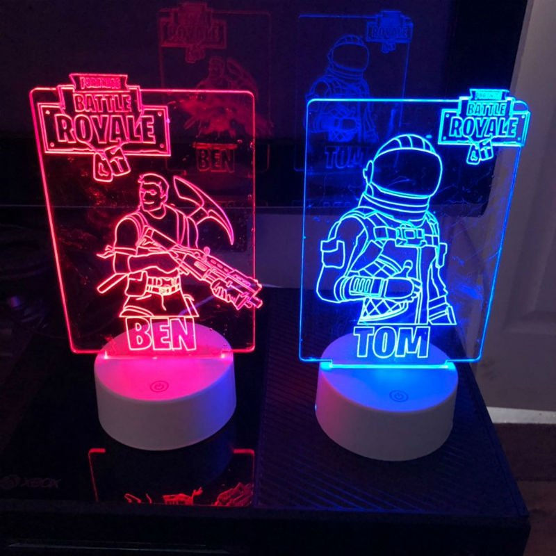 fortnite led lamp - fortnite 3ds meme