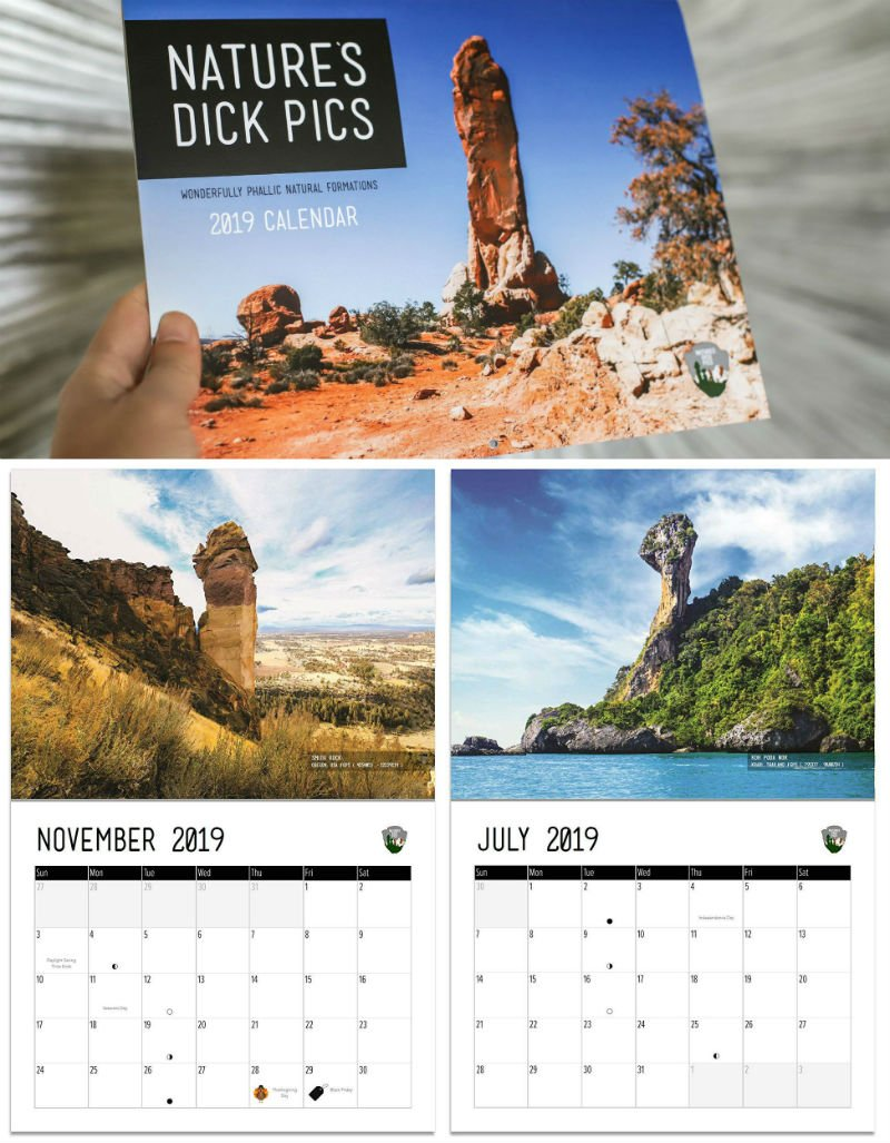 natures dick pics calendar