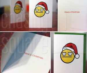 Have A Christmas – Pack of 6 cards expresses the feelings you have deep down inside, but just never had the way to say it quite right.