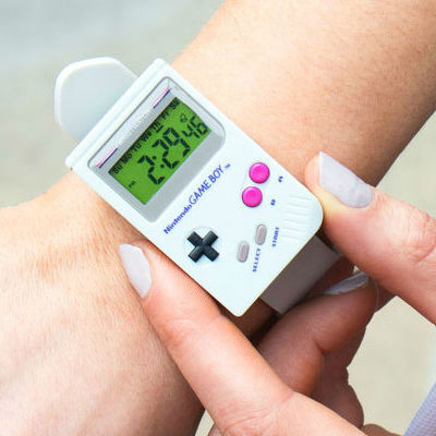 game boy wrist watch