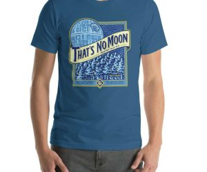 That's No Moon Star Wars Beer Shirt – Brewed in the tree tops of Endor That's No Moon is the number on selling beer throughout the galaxy