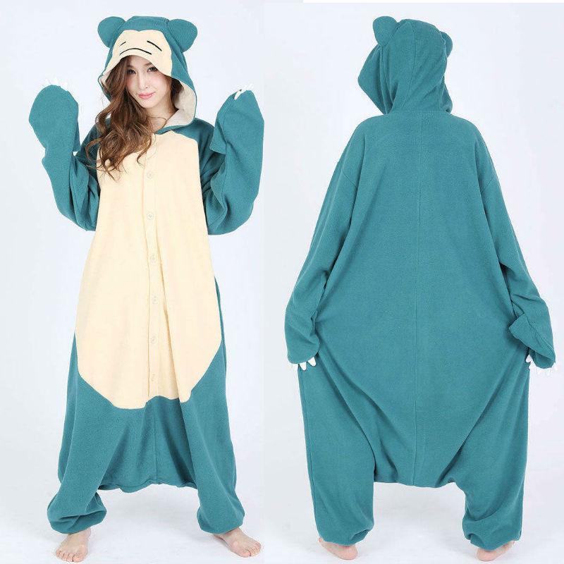 snorlax kigurumi pajamas