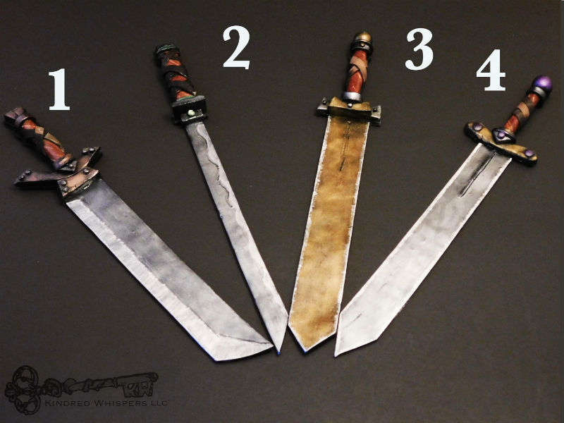 sword book marks