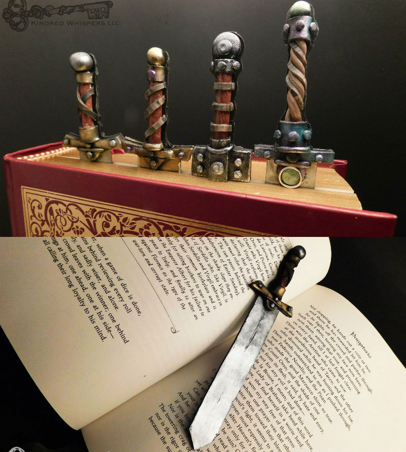 sword bookmarks