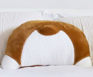 Corgi Butt Cushion Pillow – Calling all corgi lovers! These pillows are all handmade and sewn together with cuddly, plush fabric in Los Angeles, California.