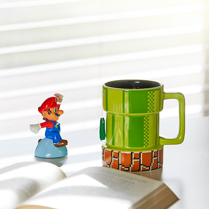 nintendo pipe mug