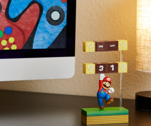 Nintendo Mario Figural Calendar – Do you know what gets us through the day? Looking forward to a weekend of platform games. And what better way to countdown the days