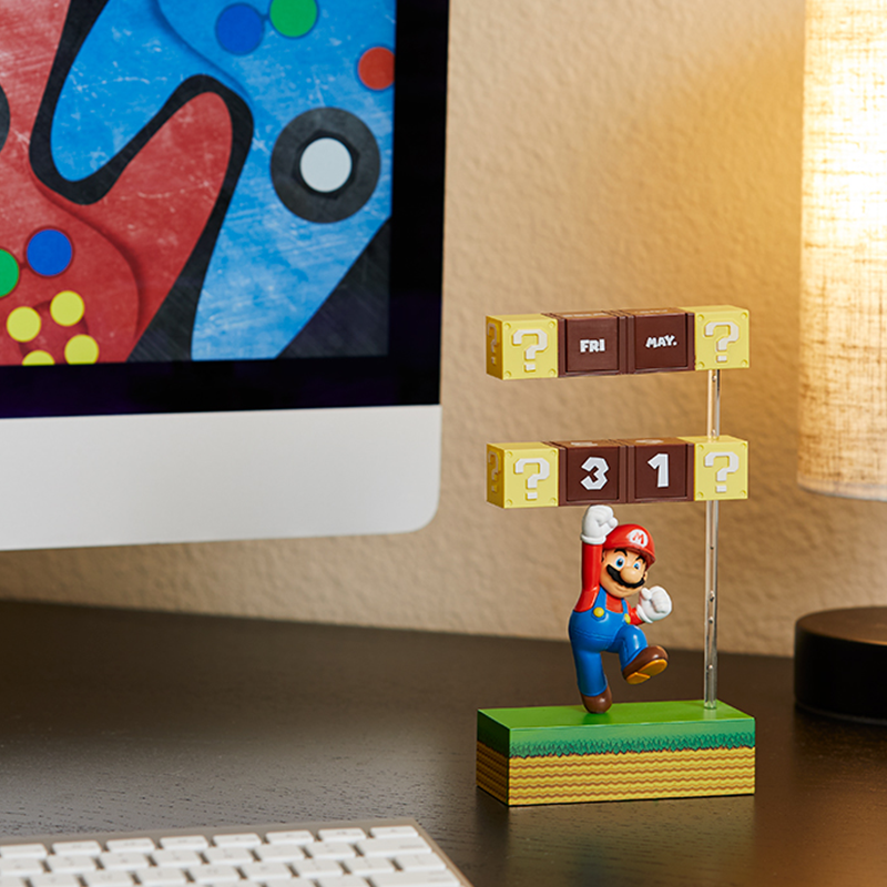 Nintendo Mario Figural Calendar