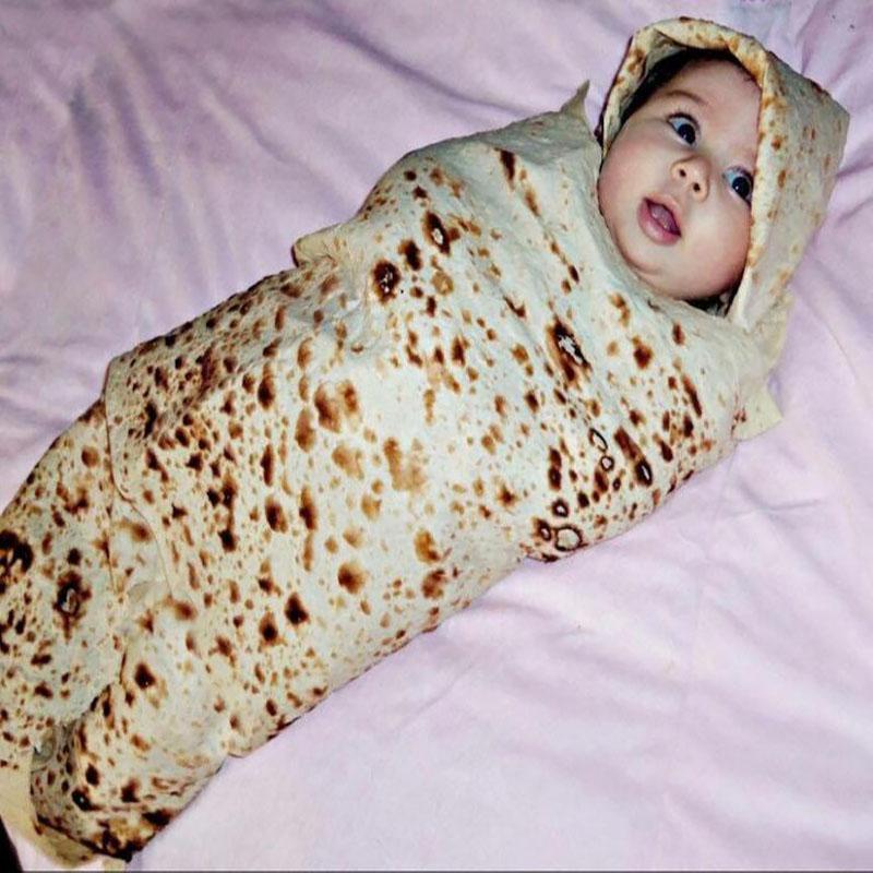 Burrito Blanket Flour Tortilla