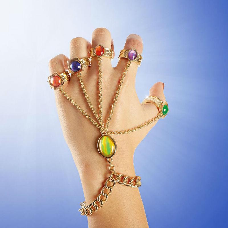 infinity gauntlet rings bracelet