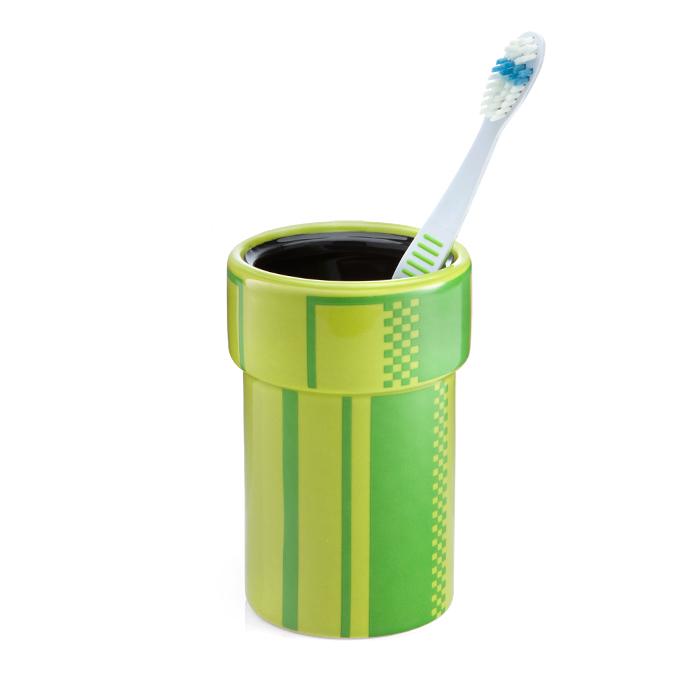 mario pipe toothbrush holder