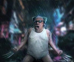 Danny Devito Wolverine Movie Poster