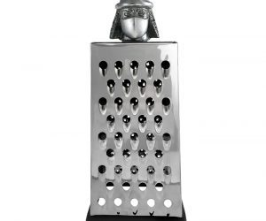 Shredder Cheese Grater – A 'grate' cheese shredder. This should be the only way to make shredded cheese for hungry superhero turtles