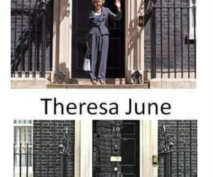 Theresa May Theresa June meme