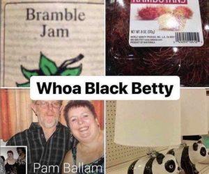 Whoa Black Betty Panda lamp meme