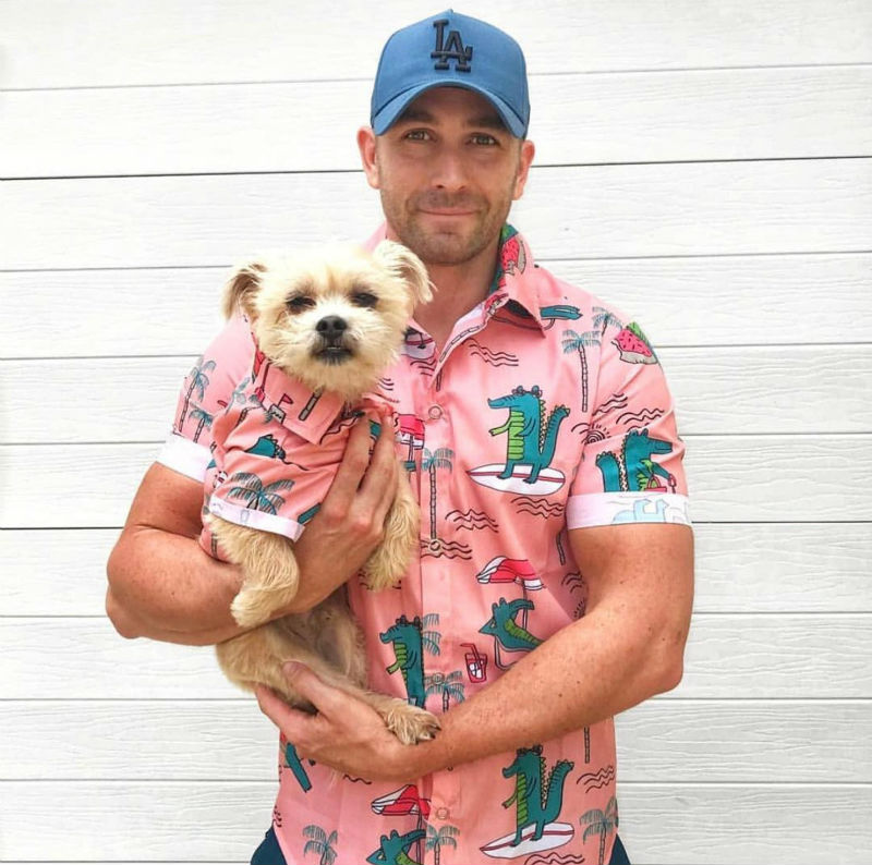 matching dog shirt