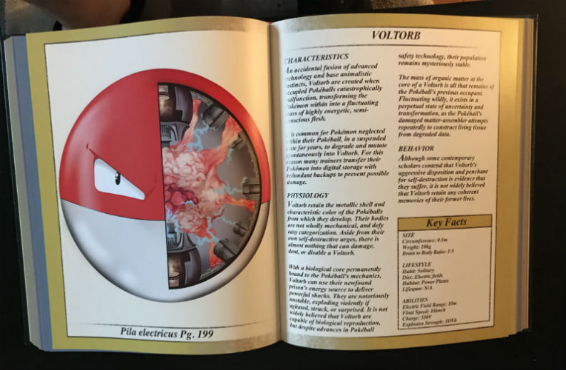 pokenatomy book voltorb