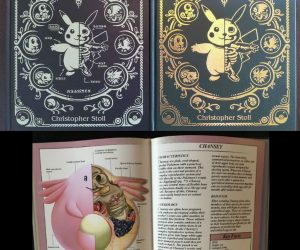 Pokenatomy: The Pokemon Anatomy Book – This book will show you the anatomy and science behind your favorite Pokemon!