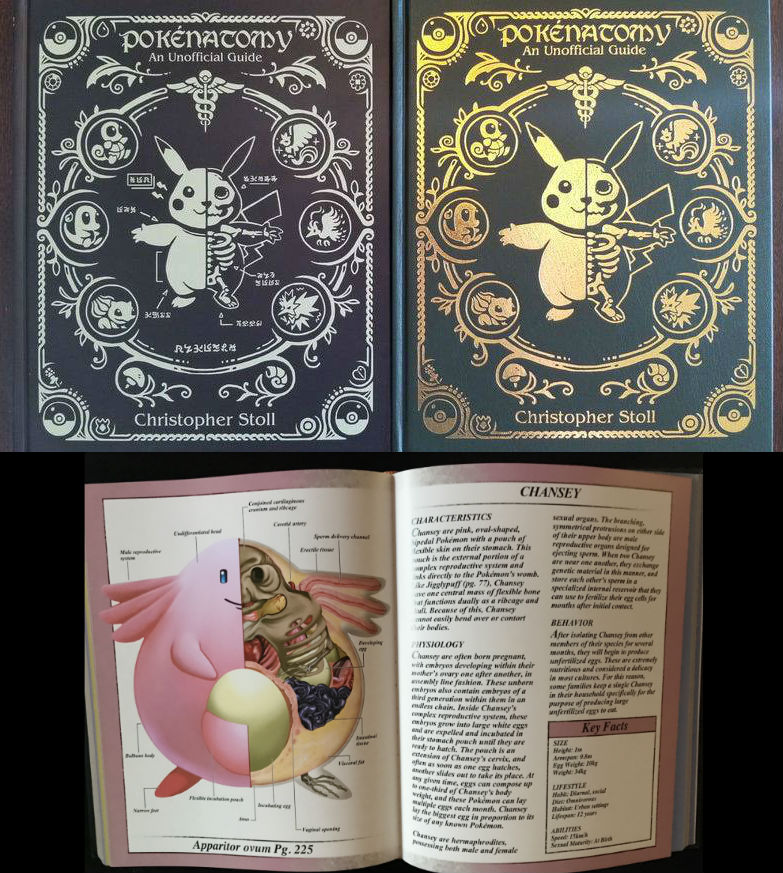 pokenatomy pokemon anatomy book