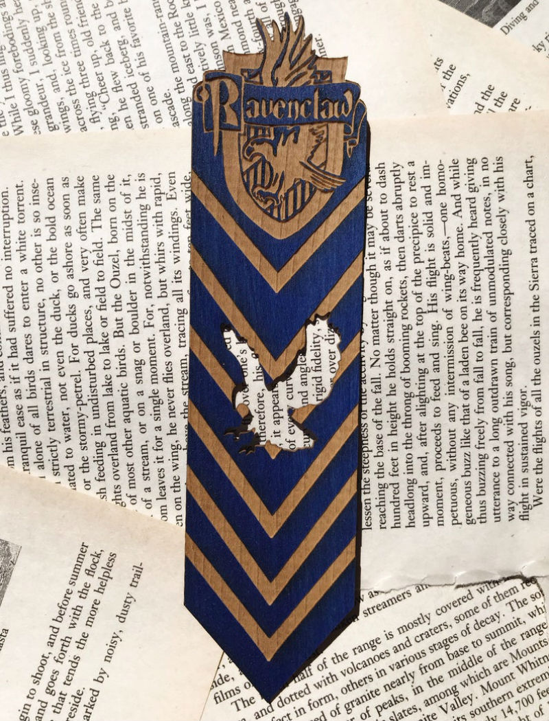 harry potter ravenclaw bookmark