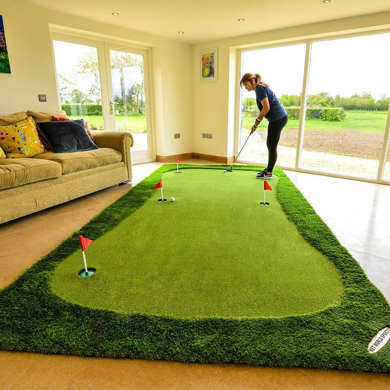 giant putting green