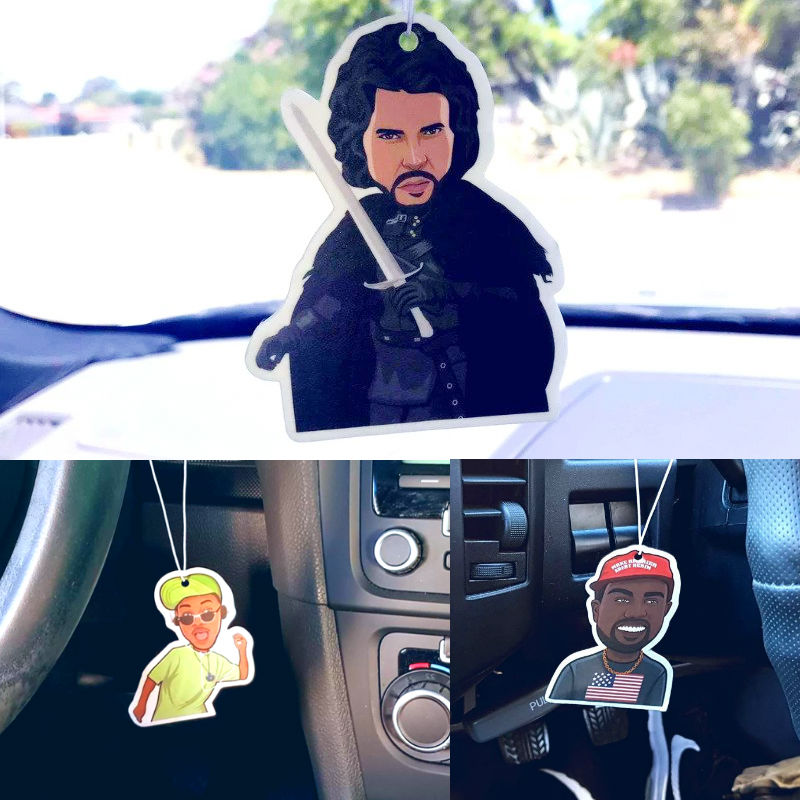 jon snow kanye west fresh prince air fresheners
