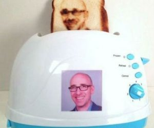 Put your face on a piece of toast with The Selfie Toaster – Sick and tired of boring old faceless toast?