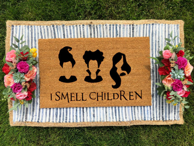 i smell children doormat