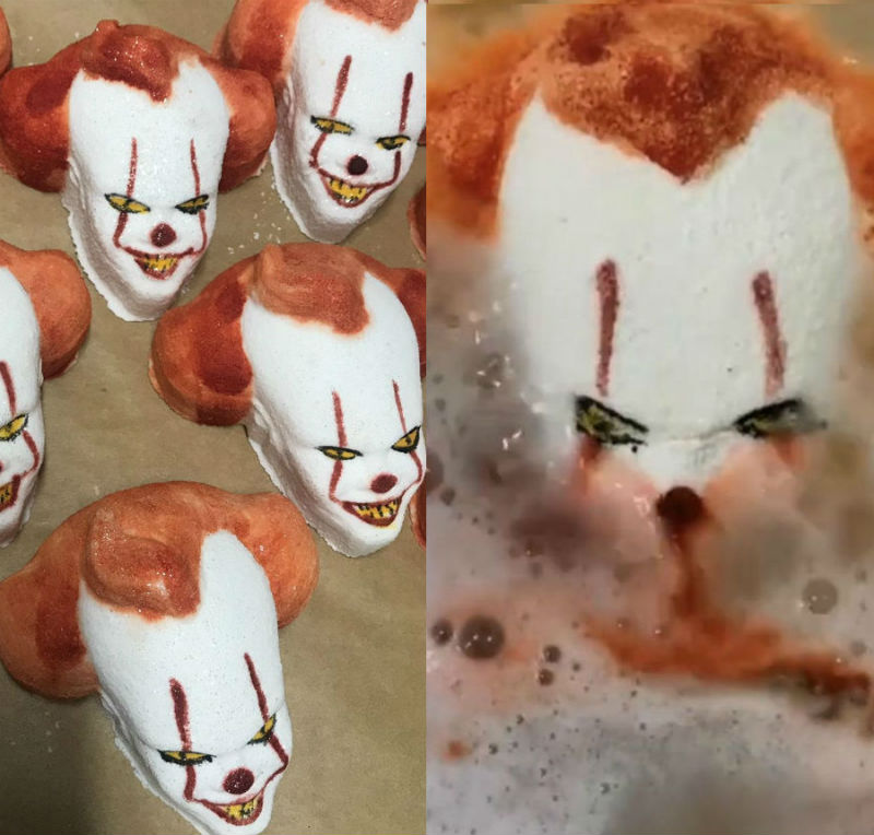 pennywise bath bombs it