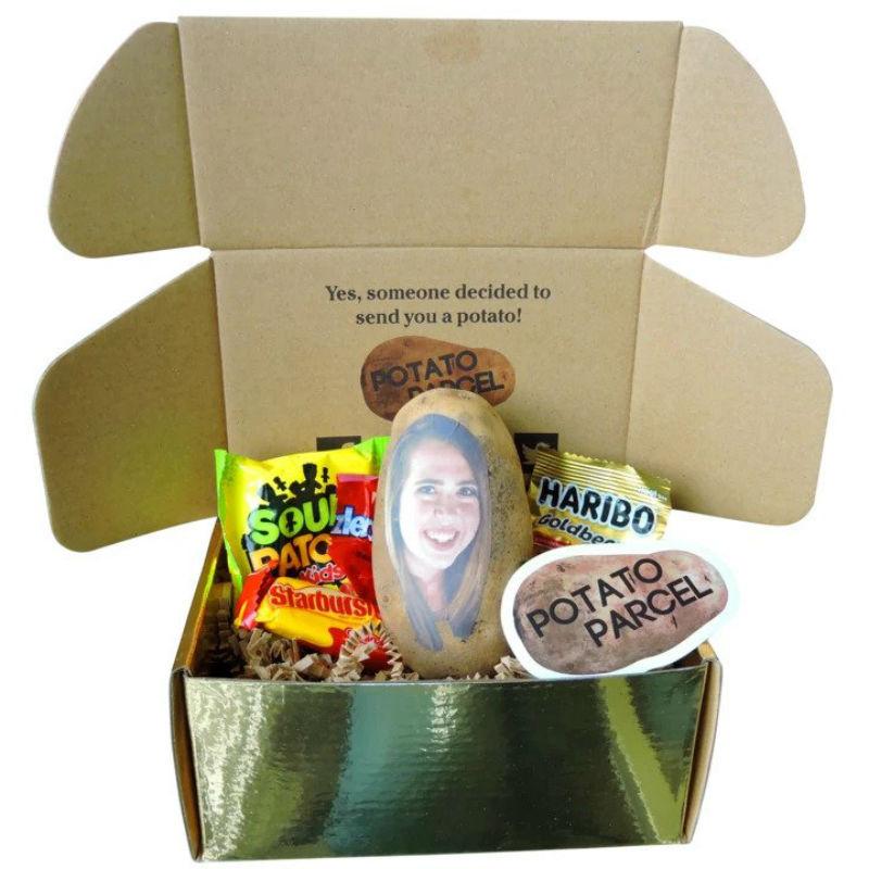 potato parcel gift box