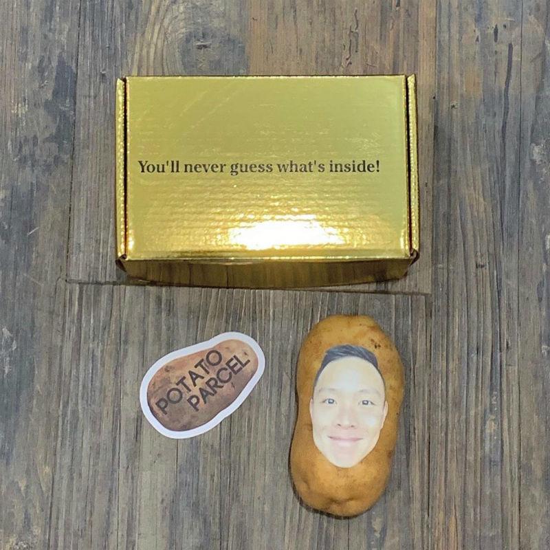 potato parcel