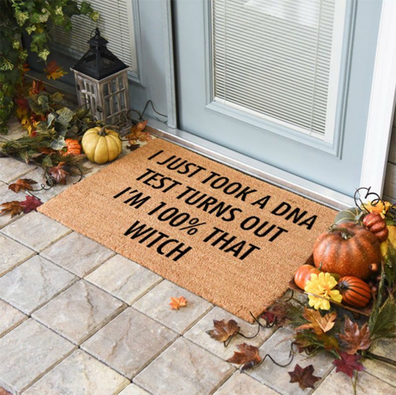 100 percent that witch doormat